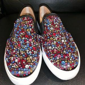 I.N.C. Zabelblk Slip On Sequin Shoes - 8